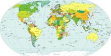 карта мира (страны)