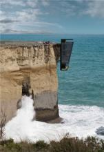 Дом на отвесной скале. Австралия