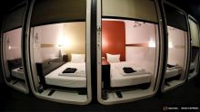 Япония отель капсула