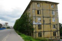 Хрущевка, старое здание