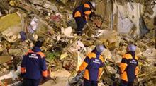 В Москве упал дом