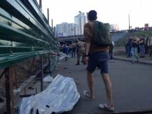 Кличко, Осокорки, драка, Киеврада