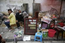 Китай. землетрясение