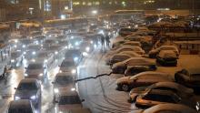 сніг автівки